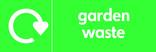 Garden waste icon - logo (landscape)