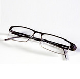 Pair of black glasses or spectacles