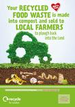 Recycle for London - Food Recycling - Farmers - A3/A4 poster