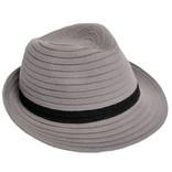 Man's grey hat