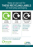 On-pack Recycling Poster with Recycle for [local area] logo