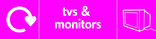 TVs & Monitors signage - TV icon with logo (landscape)