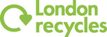 London Recycles Logo - Green, stacked
