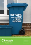 Recycle for London - Good to Know recycling container leaflet cover