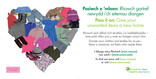 Pass it On Reuse - Vehicle Livery - Textiles & Clothing heart - Bilingual (Welsh-English)