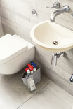 Bathroom - Photographic Images of recyclable items