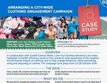 Love Your Clothes Campaign Case Study & Action Plan: City-wide clothing engagement campaign