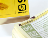 Phone books - close up