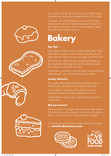 Tip card (reverse of recipe cards and poster),bakery ,Partner version