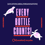 Every bottle counts social media asset. Embargoed until 23 September 2019