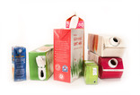 Assorted drinks cartons - fruit juice and milk cartons