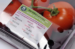 Display until and Best before dates on a pack of tomatoes