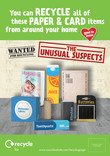 Unusual Suspects - Paper and Card - Posters