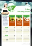 Your Business Is Food 7 Day Tracking Sheet