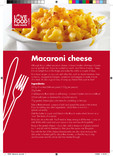 Recipes: Perfect portions,macaroni cheese