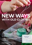 Love Your Clothes - New Ways With Old Clothes - A4 Poster