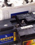 Car batteries - close up