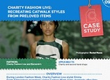Love Your Clothes Campaign Case Study & Action Plan: Charity Fashion Live