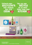 Good to Know multi material - poster & pull-up templates - Kitchen - bilingual - Welsh first