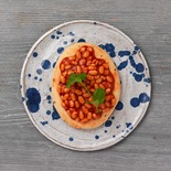 Spicy beans on toast PNG 21.03.18