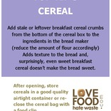 Poster for internal campaigns,cereal