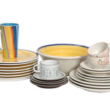 Assorted crockery - plates, bowls and mugs