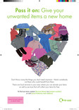 A4 Poster - Textiles & Clothing heart