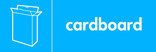 Cardboard signage - cardboard box icon (landscape)