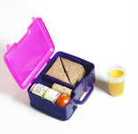 Lunchbox with food without packaging