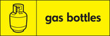 Gas bottles signage - gas bottle icon (Landscape)