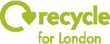 Recycle for London Logo - Green, two line