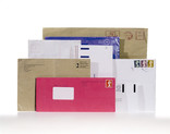 Assorted used envelopes