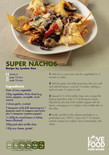 Student-friendly recipe,super nachos