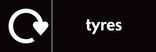Tyres signage - Logo (landscape)