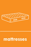 Mattress signage - mattress icon (portrait)
