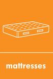Mattress signage - mattress icon (portrait)