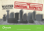 Unusual Suspects - Leaflet/Flyer