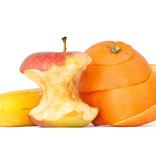 Leftover fruit - peelings