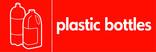 Plastic bottles (2L milk) signage - milk bottles icon (landscape)