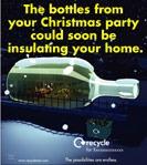 Seasonal glass bottles press ad - size 50x265