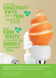 Good to Know - Food - Bilingual A3 Posters (x3) - Apple, Coffee and Orange (Welsh first)