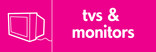 TVs & Monitors signage - TV icon (landscape)