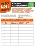 Toolkit Food Waste Diary