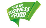 Your business is food flag image