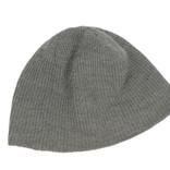 Men's grey beanie hat