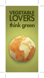 Vegetable lovers,potato,environment,web banner