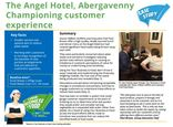 Your Business is Food case study - The Angel Hotel