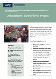 Oxfordshire County Councils 'It's Dinner Time' project