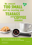 Food recycling - Coffee (Cup) - A3/A4 poster