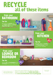 Good to Know multi material - infographic templates - varous rooms - Welsh & English versions